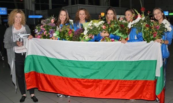 Световните шампионки от ансамбъла на България по художествена гимнастика спечелиха златния медал
