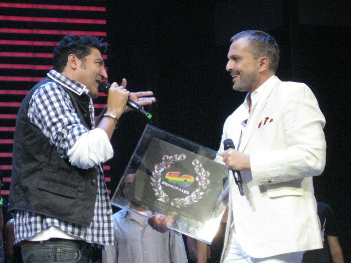 """Premio 25 números 1 de """"40 principales"""" en 2010"""