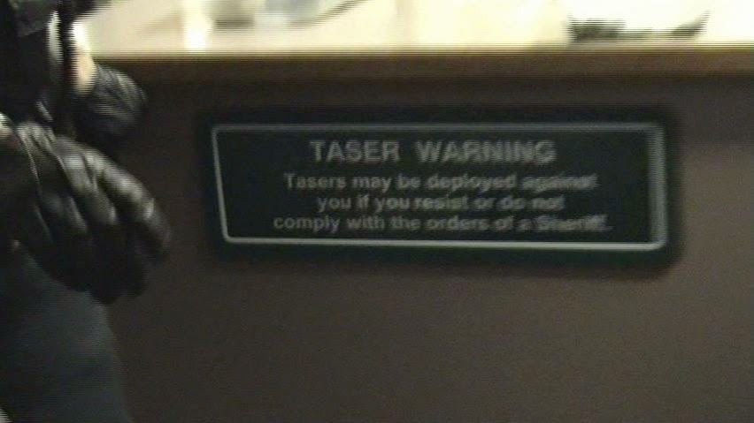 All TASER Warning signs removed from BC Courthouses