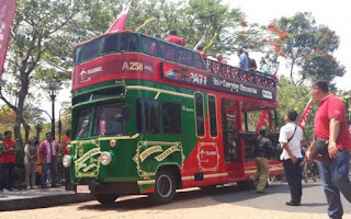 Domapan bus tours, the most recent in Yogyakarta tourist facilities