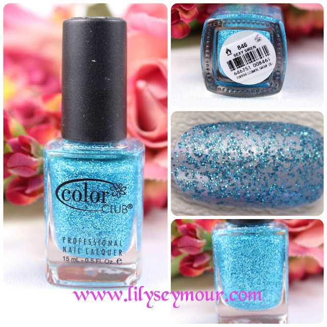 Color Club Sexy Siren Glitter Nail Polish