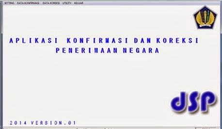 aplikasi konfirmasi kp2n 2014
