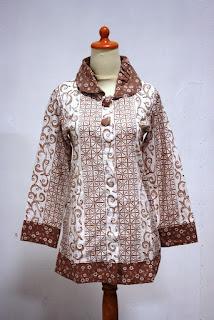 Trend baju batik wanita terbaru busana lebaran anda