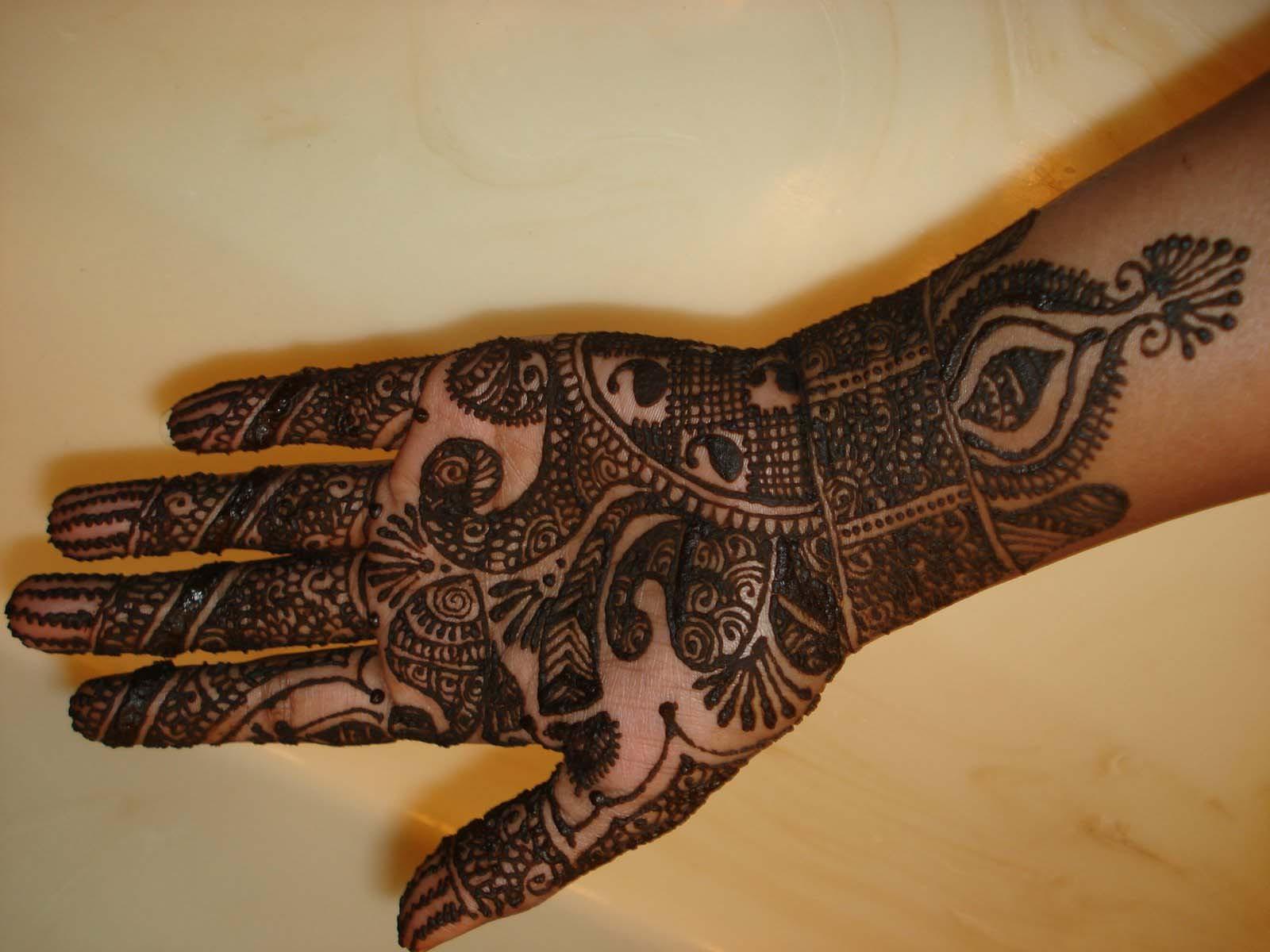 Simple Mehndi Patterns Wallpapers : Bridal mehndi designs beautiful simple design wallpapers
