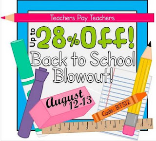 TPT Back to School Blowout Sale