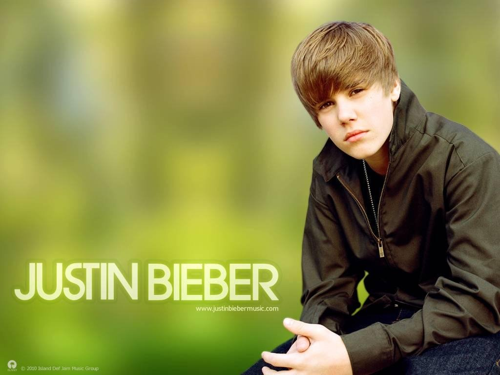 Justin_Bieber_Green_Nature_Background_wallpapers
