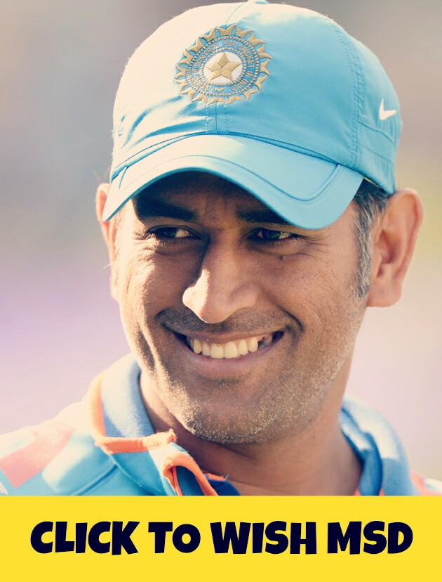 Happy Birthday MSD :)