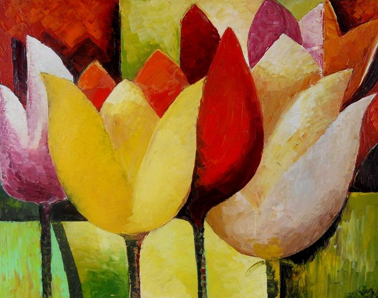 Los mejores pintores fot grafos y escultores de colombia - Cuadros flores modernas ...