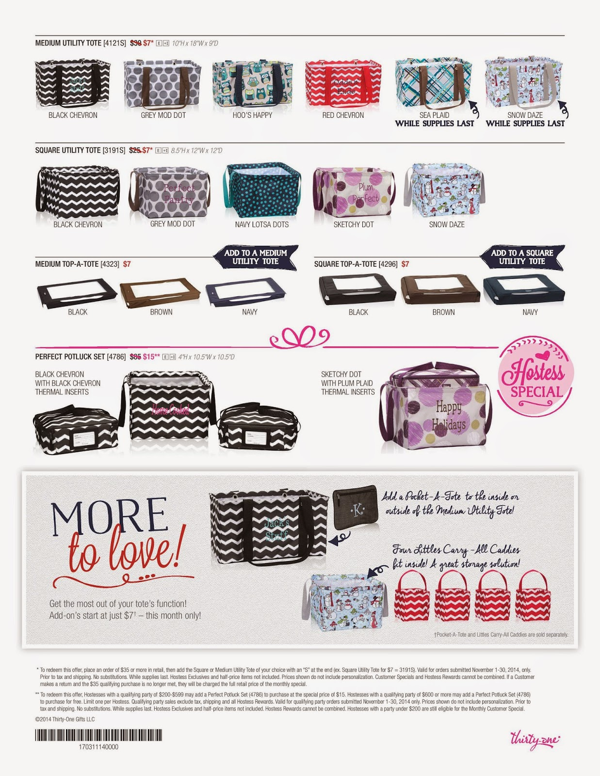 Thirty one november customer special 2014 - Friday November 7 2014