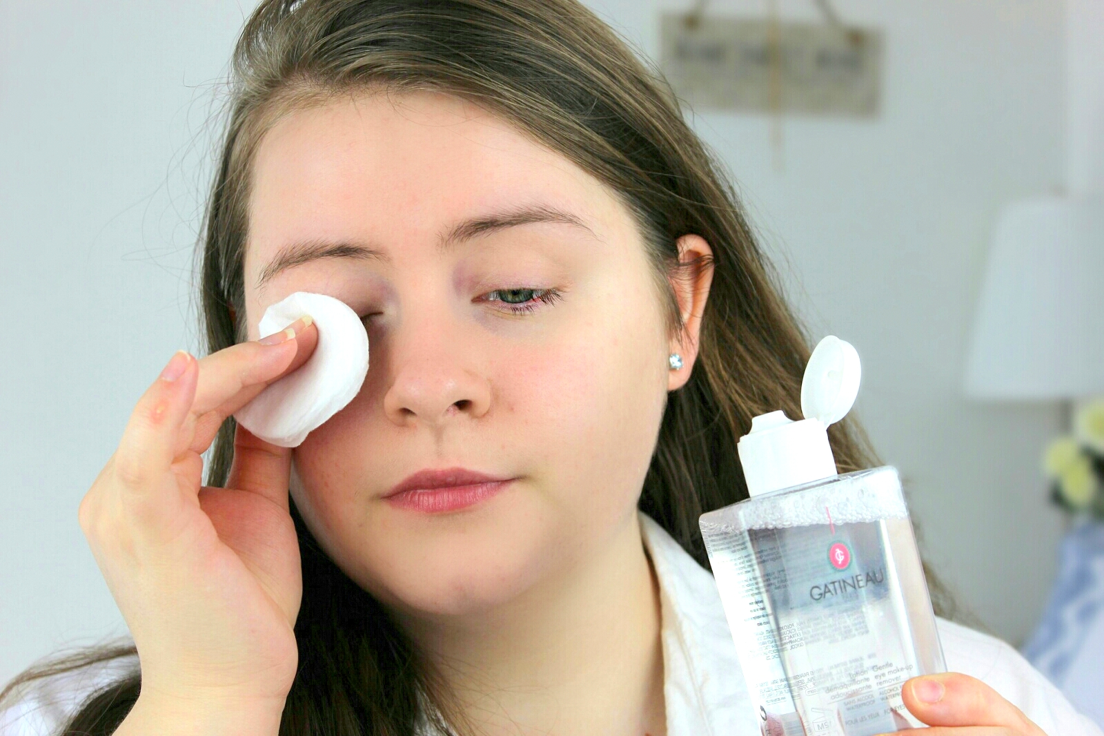 What removes eye makeup