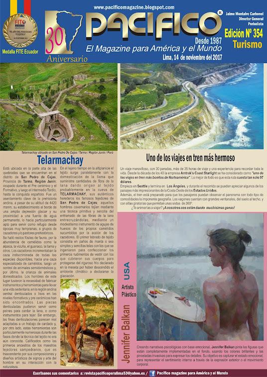 Revista Pacífico Nº 354 Turismo