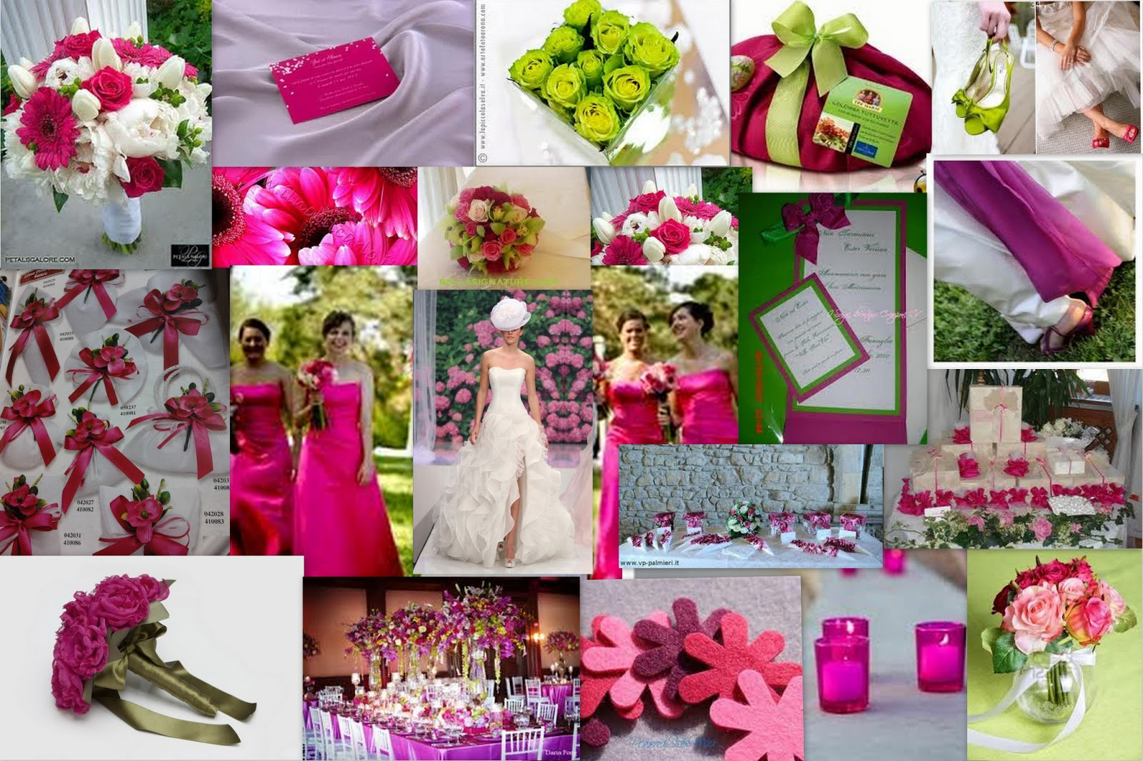 Matrimonio Tema Fucsia : Colore matrimonio help me pagina