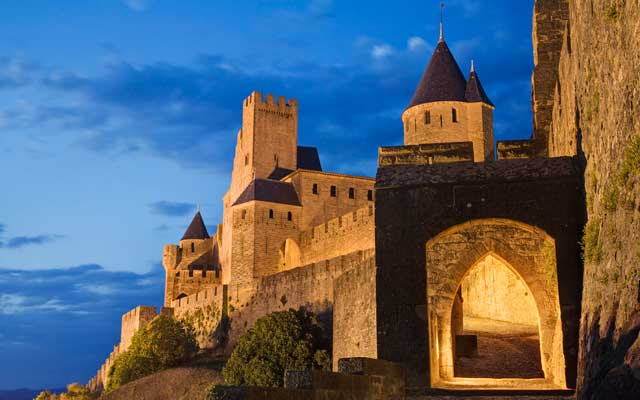 Historic Fortified City of Carcassonne France Heritage
