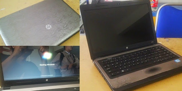Laptop Second Core I3 HP 430