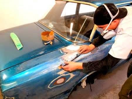 Покраска автомобиля после антигравия своими руками 31