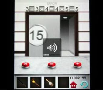 100 floors level 99 for 100 floors 17th floor answer