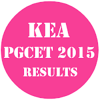 KEA PGCET results 2015