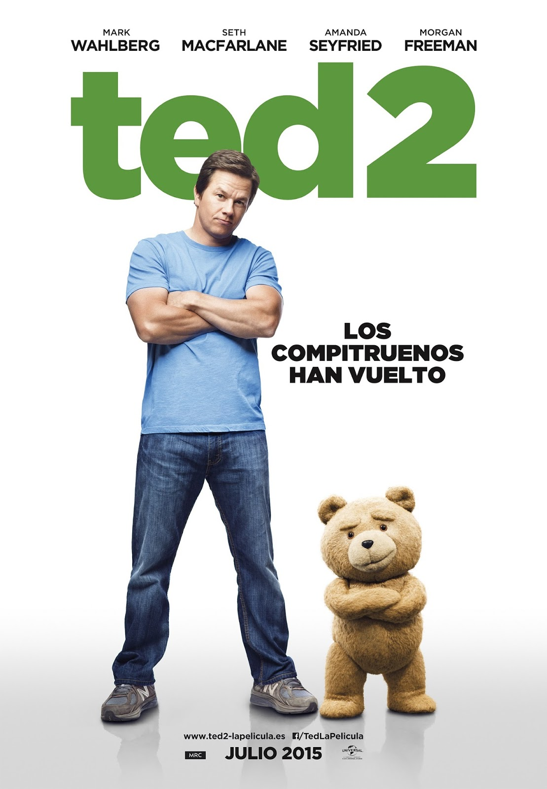 Poster mediano de Ted 2