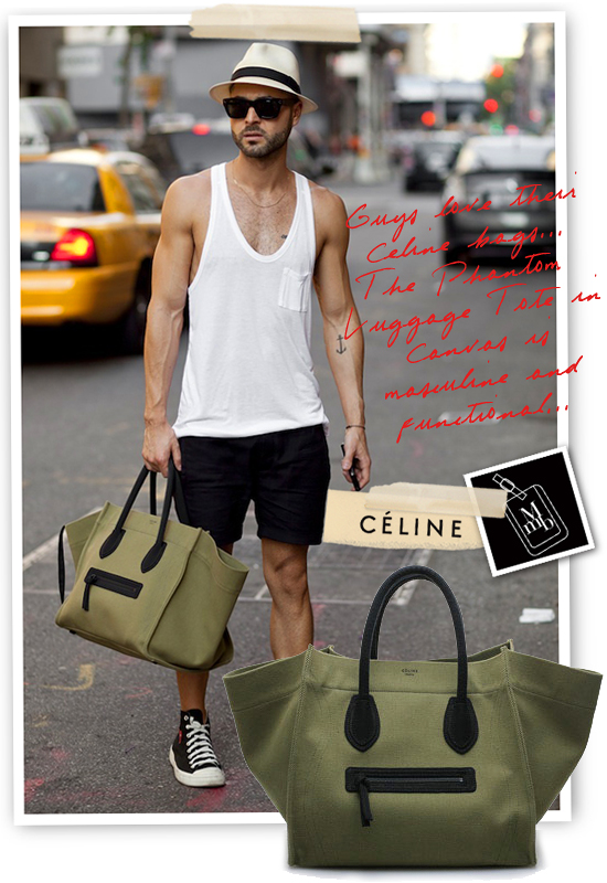 myMANybags: \u0026#39;Guy Friendly\u0026#39; C¨¦line SS2012 Canvas Phantom Luggage Tote