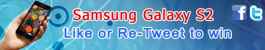Facebook Like or re-tweet Contest To Win Samsung Galaxy S2