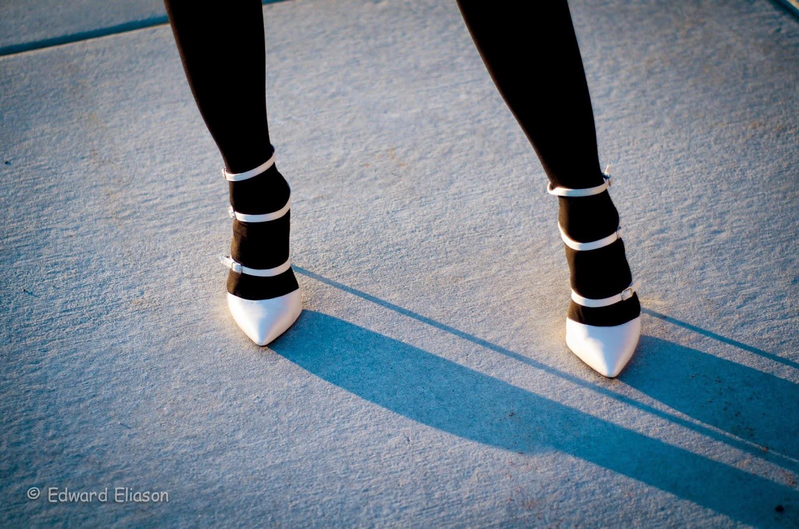 ami clubwear, amiclubwear, white pointed heels, white heels, pointed toed heels, ami clubwear heels, heels blog, pretty,
