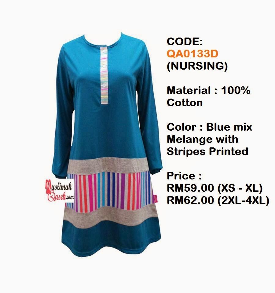 T-Shirt-Muslimah-Qaseh-QA0133D