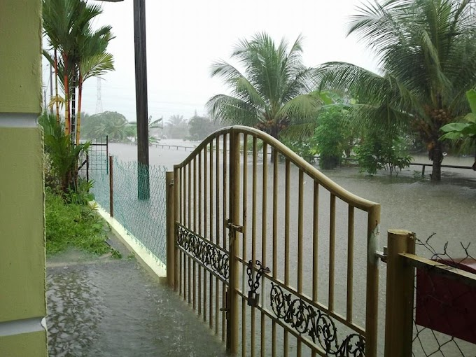 Banjir besar selepas 12 tahun!