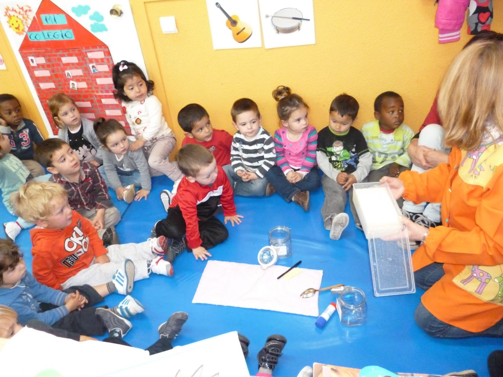 Ceip jos arce bodega ed infantil abril 2013 for Actividades para jardin