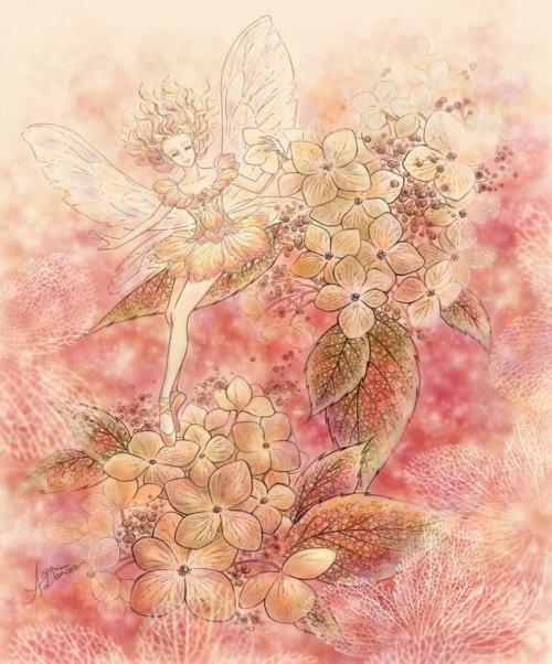 Mitzi Sato-Wiuff ilustrações fantasia e contos de fada mulheres