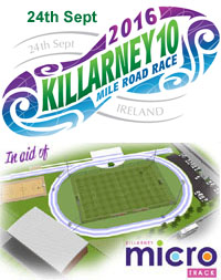 Killarney 10 mile road race...Sat 24th Sept