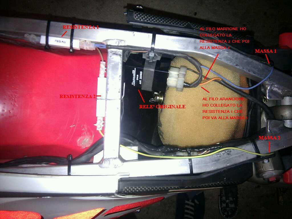 Schema Elettrico Hm : Lele informa: frecce a led: montaggio e come farle funzionare