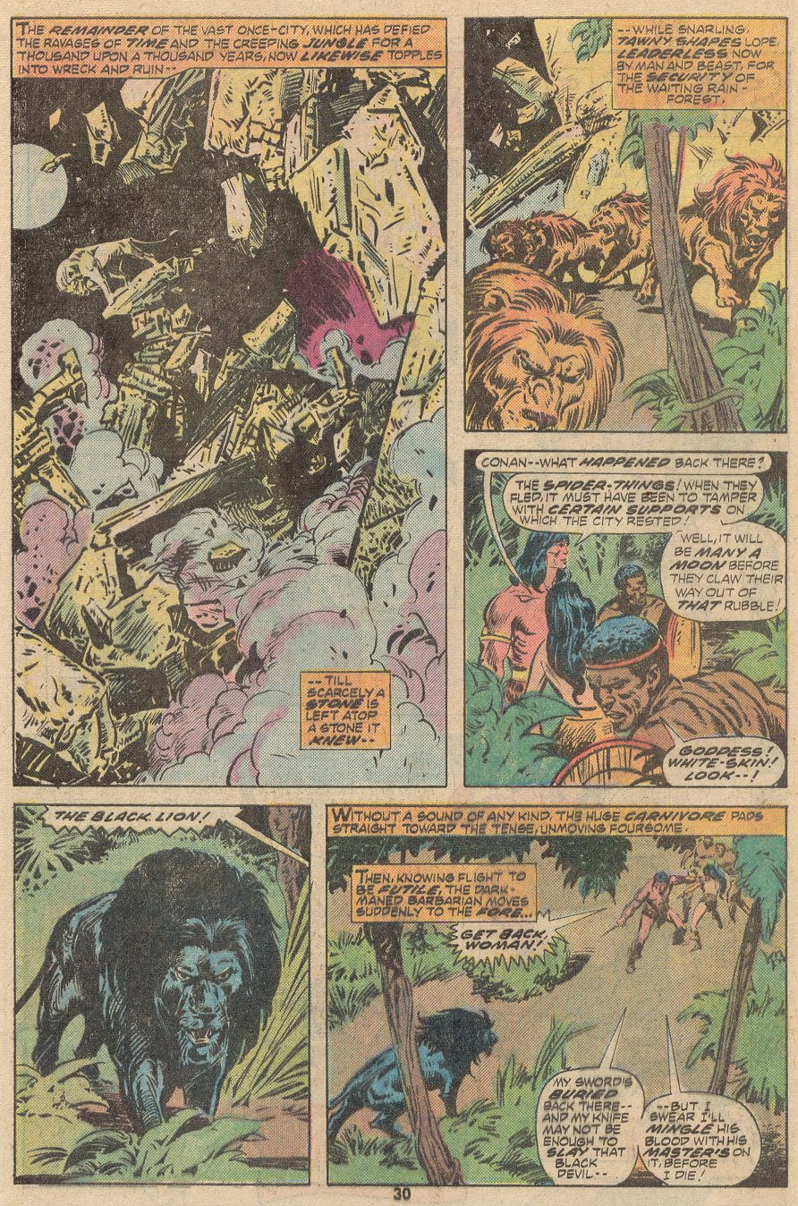 Conan the Barbarian (1970) Issue #63 #75 - English 21
