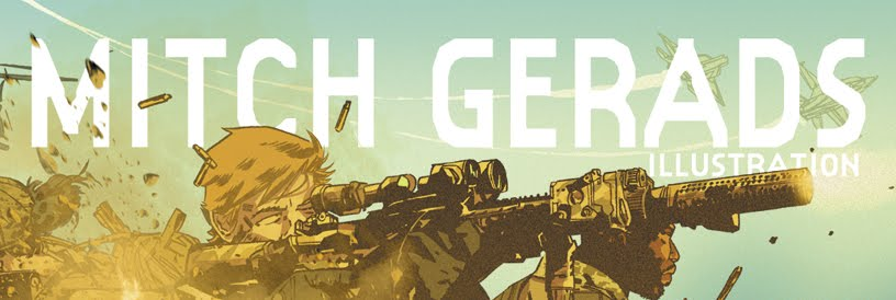 The MITCH GERADS Illustration blog