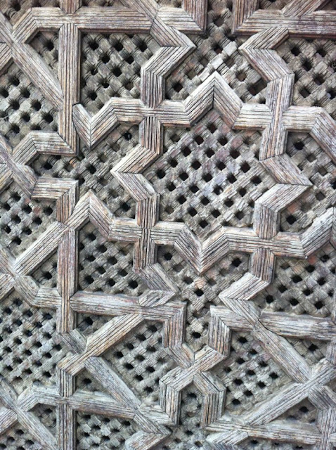 Close of up screen in Morocco 