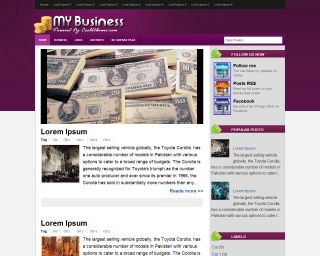 My Business Blogger Templates