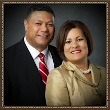 President Sione and Lupe Tuione