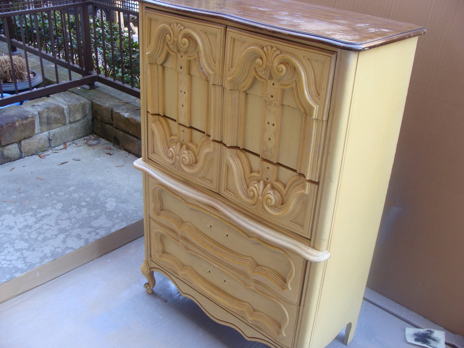 Charming Hollywood Regency Furniture On A Budget #14: A Wonderful And Corky Lady Was Selling A Set Of 2 Nightstands 1 Dresser And 1 Chest Of Drawers For $395 And After Seeing All That Was Out There In Retail In ...