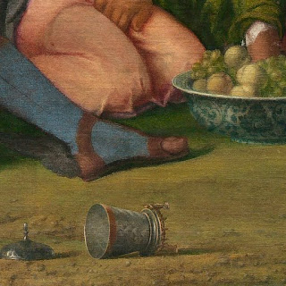 Dei di Bellini: pisside rovesciata.
