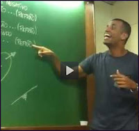 Professor dando aula catando Funk
