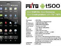 Harga dan Spesifikasi Tablet Android Murah Mito T500
