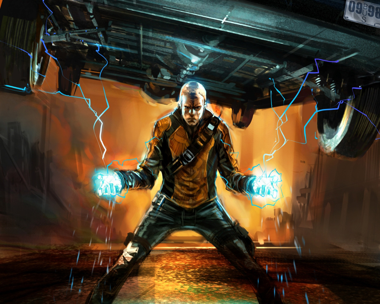 Infamous HD & Widescreen Wallpaper 0.148571026577465