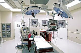 Latest operating theater for brain surgery