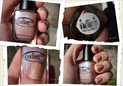 color club love 'en leave 'em holographic nails nail polish esmaltes uñas