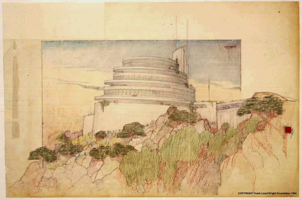 San martin arts crafts frank lloyd wright architectural for Architectural drawings for sale