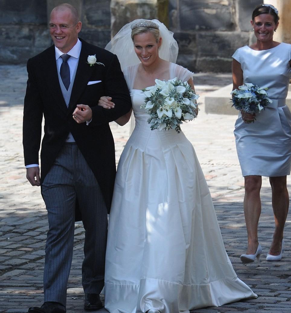 Zara Phillips Wedding Dress Pictures Gallery News Today 2012