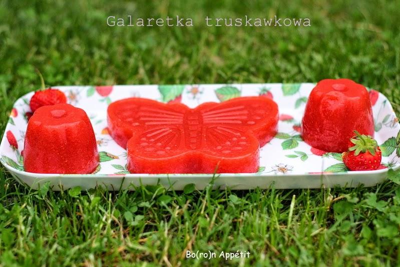 Galaretka truskawkowa domowym sposobem