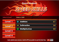 http://www.mathsonline.com.au/games/speed_skills