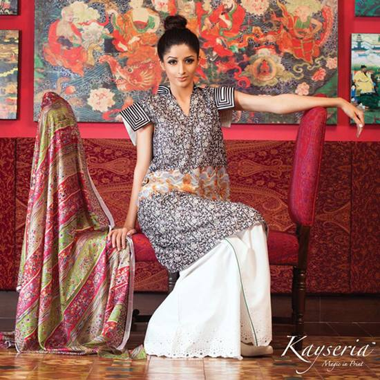 Dazzling Extra prints by kayseria collection