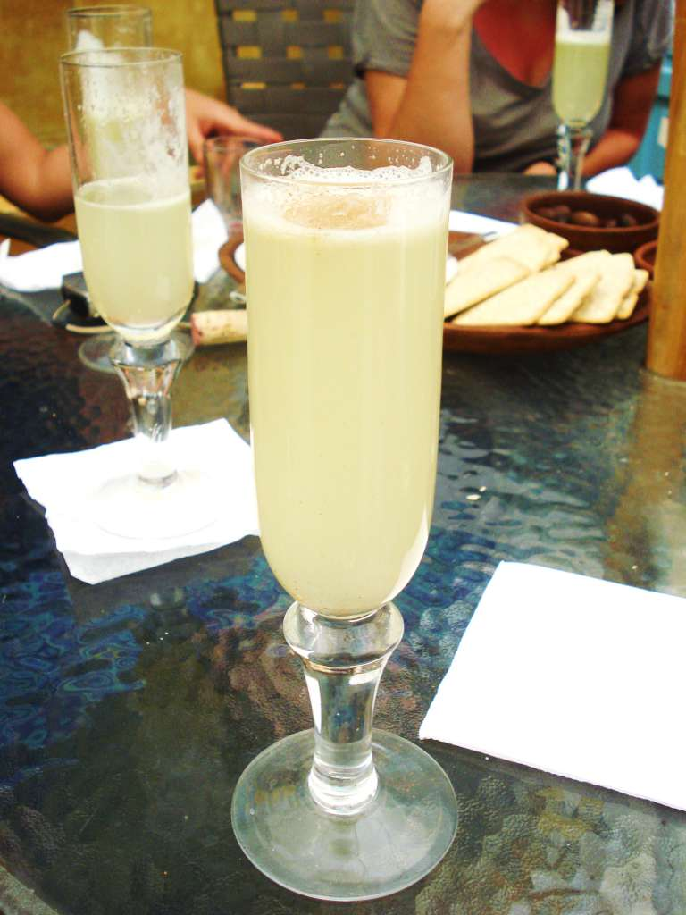 Pisco sour in santiago chile we eat therefore we are - Pisco sour ingredientes ...