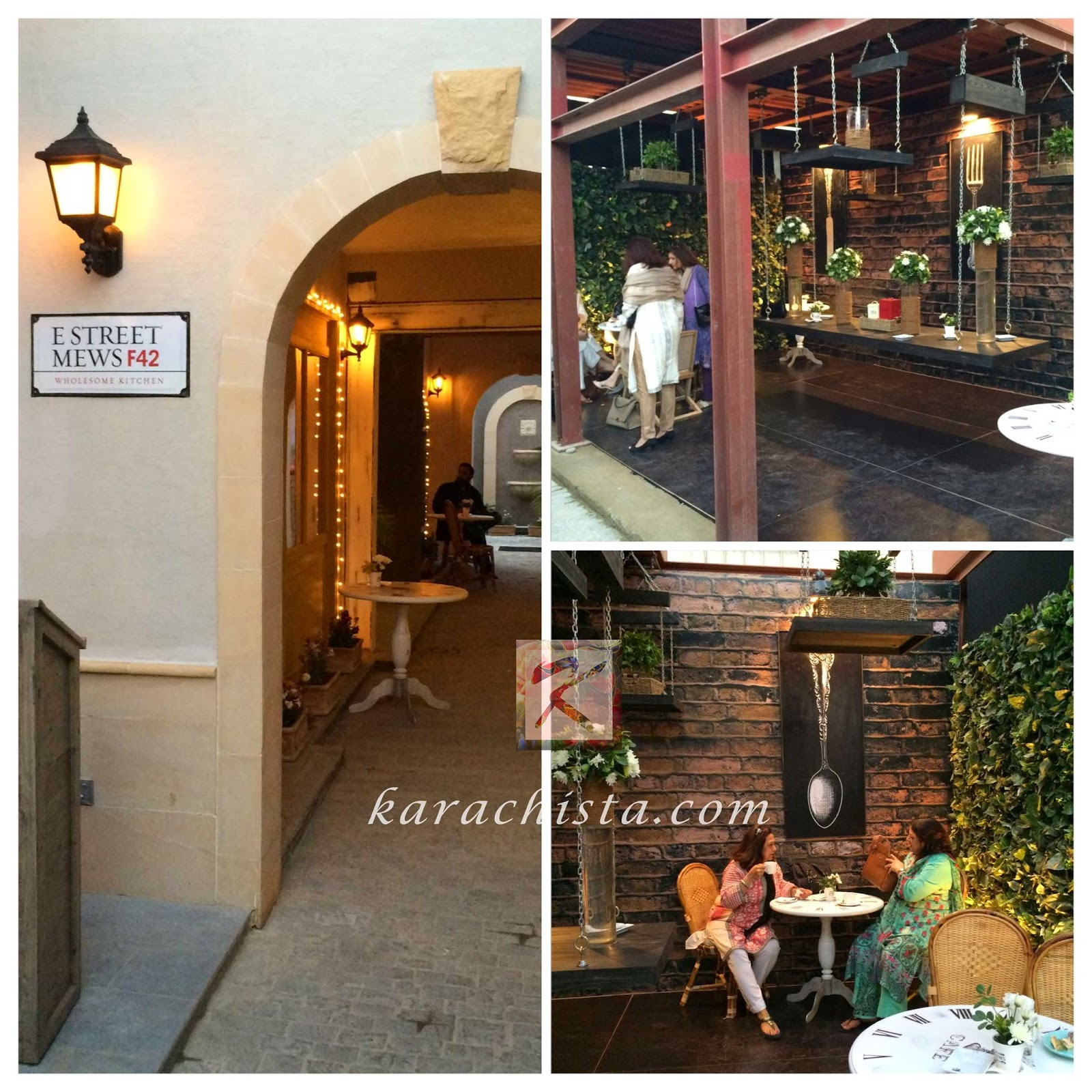 Mews - Karachi's newest upscale cafe